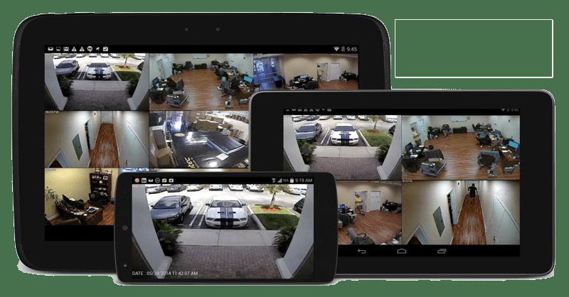 Tv-Overvåkning på mobile enheter