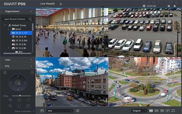 SmartPSS - Kameraovervåkingsklient