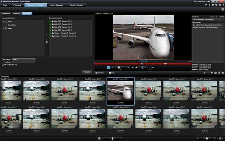 Milestone Xprotect - Kameraovervåknings klient